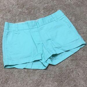 J crew NEW chino broken in shorts
